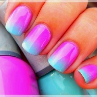 pink blue gradient