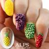 3D fruits summer nails