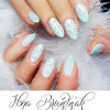 baby blue china accent spring pastel nails