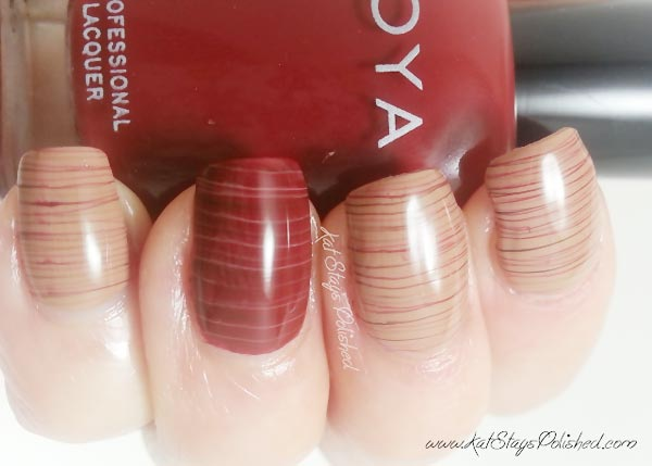 cherry chocolate sugar spun nails