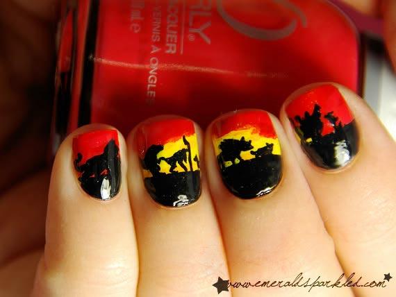 Disney Lion King nails