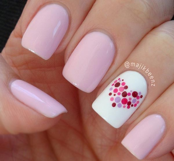 Top Pink Nail Art Ideas 600 x 557 · 30 kB · jpeg