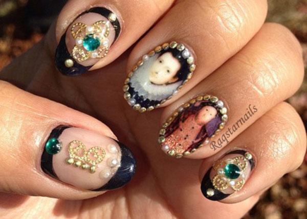 fantastic decals royal steampunk nails