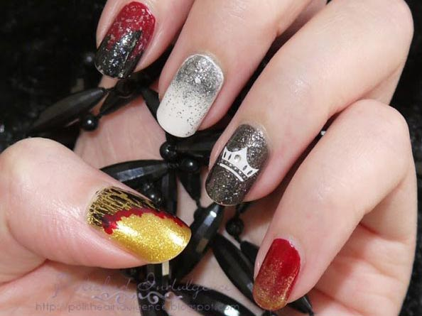 game of thrones inspired nails