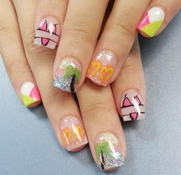 summer holiday perfect nails