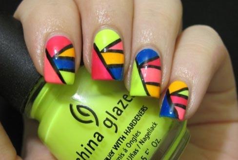 technicolor nails
