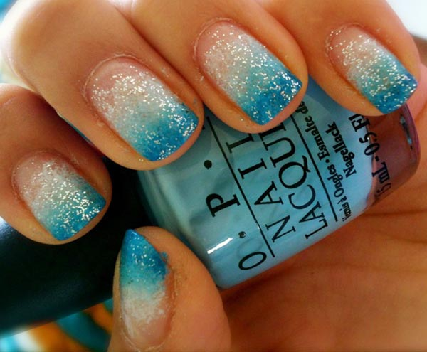teal and gold nail designs newhairstylesformen2014com