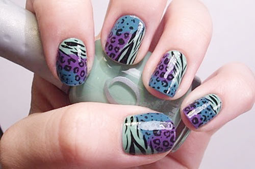 wild animals nails