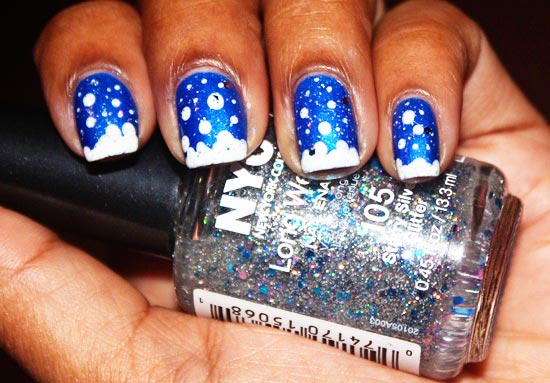 winter frostbite nails